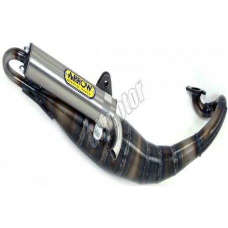 Arrow Extreme Fekvőhengeres Minarelli Sport kipufogó dob – alumínium robogó
