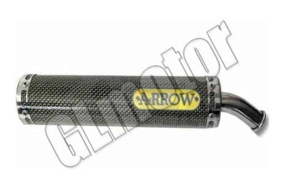 Arrow Racing Minarelli hangtompító Yamaha AM - Aprilia RS / Tuono motor Sport kipufogó dob – karbon