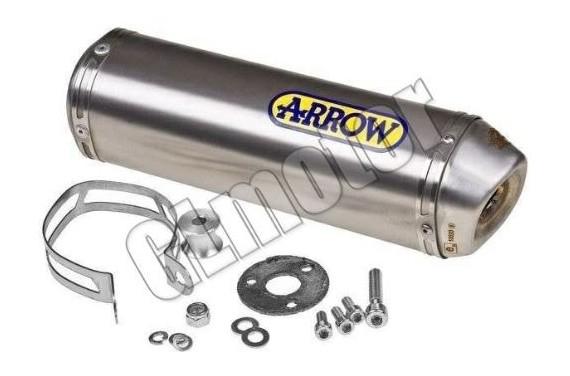 Arrow Racing hangtompító Piaggio D50B0 - Aprilia RX / SX Sport motor verseny kipufogó dob – titán