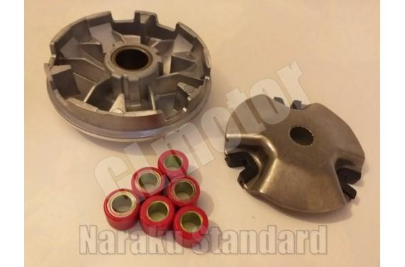Variátor szett Minarelli 50 3Kj blokkos robogóhoz, Naraku Performance Sport / High Speed / Racing tuning varió váltó